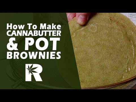How to Make Cannabutter & Pot Brownies - Cooking with Marijuana #19