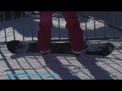 Snowboard - Learn how to REALLY carve a snowboard.