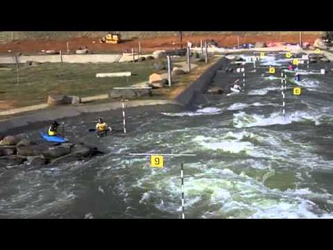Kayaking Whitewater Rapids