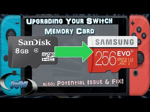 How To Upgrade Your Nintendo Switch Memory Card