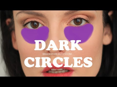 How to conceal dark circles (makeup for beginners)