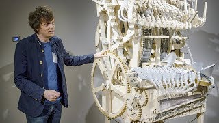 Video Building the Marble Machine at the Speelklok Museum MP3, 3GP, MP4, WEBM, AVI, FLV Agustus 2018