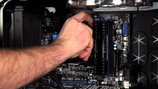 Corsair Hydro Series H60 CPU Cooler Install How-To Video