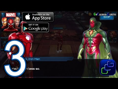 MARVEL Future Fight Android iOS Walkthrough – Part 3 – Chapter 1 NORMAL: Stages 5-7