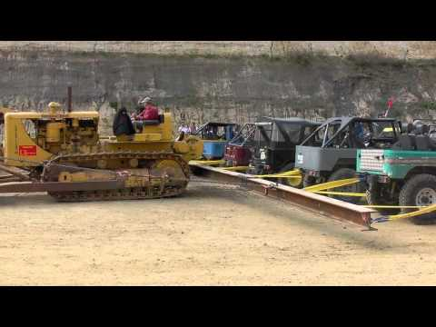 ᴴᴰ Caterpillar D8 VS 20 Toyota's!