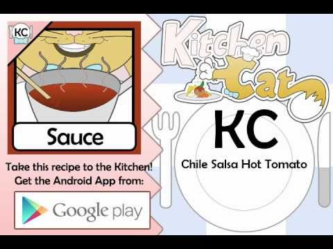 Chile Salsa Hot Tomato – Kitchen Cat