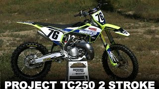 9. Project Husqvarna TC250 2 Stroke - Motocross Action Magazine