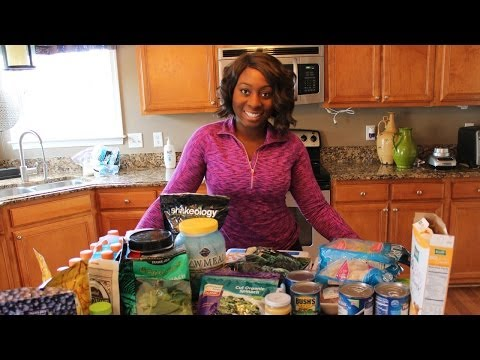 Eating Clean  Easily | What I Eat to Lose Weight | Grocery List