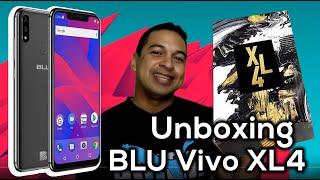BLU VIVO XL4 - UNBOXING - ESPAÑOL