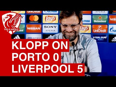 Porto 0-5 Liverpool | Jurgen Klopp Post-Match Press Conference