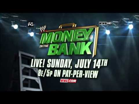 Bank - WWE Money in the Bank is live on pay-per-view July 14, 2013.