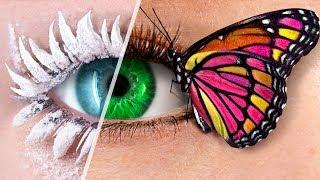Video 9 DIY Weird Makeup Ideas / Fairy Makeup MP3, 3GP, MP4, WEBM, AVI, FLV Februari 2019