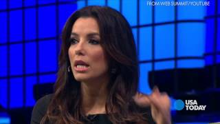 Eva Longoria On Poverty, Women's Issues, Technology