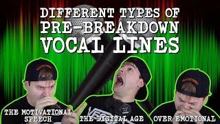 Video Different Types Of Pre-Breakdown Vocal Lines MP3, 3GP, MP4, WEBM, AVI, FLV Oktober 2018
