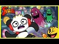 Pacman Ghostly Adventure Iceman Pacman Let's Play with Combo Panda