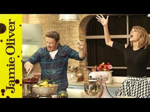 stand - Jamie challenges Taylor Swift to Shake It Off.... sorry, Bake It Off, all in aid of the brilliant Stand Up to Cancer charity. Please give generously: http://www.channel4.com/su2c Jamie Oliver's...