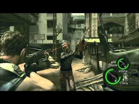preview-Let\'s Play Resident Evil 5! - 006 - Chainsaw maniac (ctye85)
