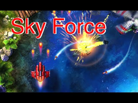 Sky Force 2014: Stage 1-8 Walkthrough (Complete)