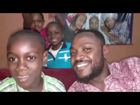 Adam A Zango And His Blessing Family