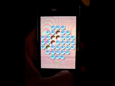 Video of PegDroid - Marble solitaire