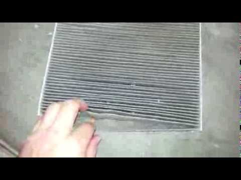 2013 Kia Optima HVAC Cabin Air Filter Element – Cleaning & Changing At 13,000 Miles