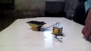 hoparlörden elektrik üretme