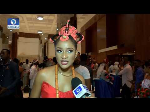 EN: Nollywood Stars Turn Out In Traditional Attires For 'AYAMMA' Premiere