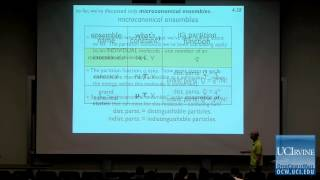 Thermodynamics and Chemical Dynamics 131C. Lecture 04. Entropy.