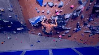 CLIMBING AT MY LIMIT AND TALKING ABOUT MY INJURY(REUPLOAD) by Eric Karlsson Bouldering