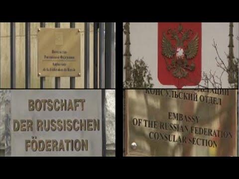 Σωρεία απελάσεων Ρώσων διπλωματών από χώρες της Ε.Ε.