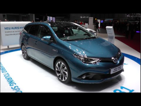 Toyota Auris Hybrid Touring Sports 2015 In detail review walkaround Interior Exterior