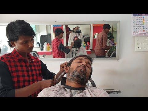 Hairdresser - ASMR Beard Trim Scissor ASMR by Master Cracker