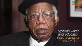 Great Nigerians: Chinua Achebe