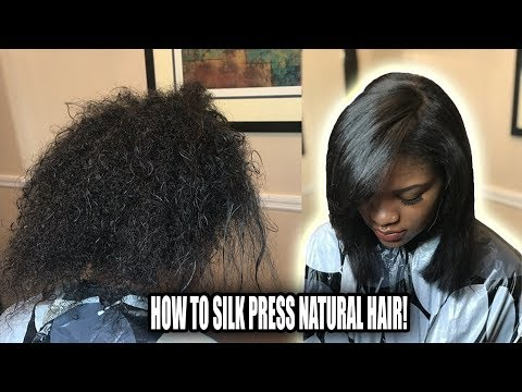 How To Silk Press Natural Hair | Secrets That Pro's Don't Tell You!