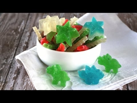Vietnamese Recipe: How to Make a Different Color Agar Jelly Candy – Mứt Rau Cau