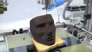 Best Technology  The 3D Printer 3Drag For Chocolate And Food/2015/youtube