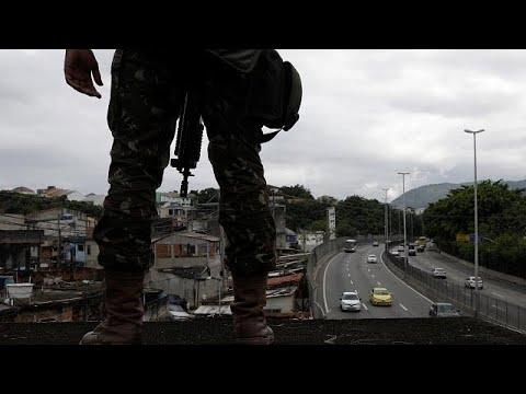 Gewalt in Rio: Temer will für Ordnung sorgen
