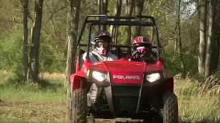 9. 2012 Polaris RZR 170 Test