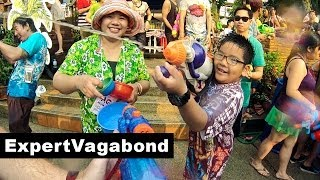 Songkran Festival 2013: Epic Water Fight!