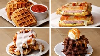 Waffles 4 Ways by Tasty