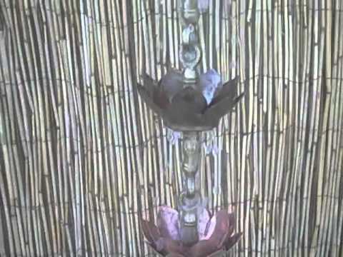 Double Lotus rain chain #DL-701