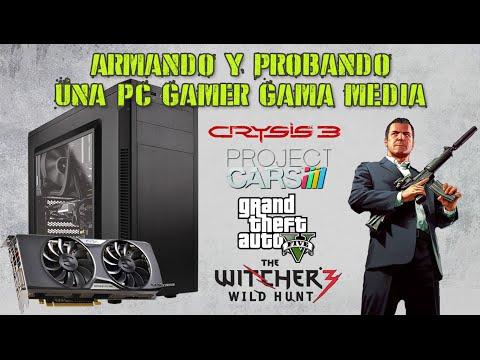 Armando y Probando una PC Gamer Gama Media (FX-6300 / GTX 960) (Español)