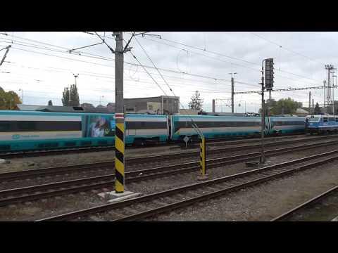 EJ 680.007 Pendolino jako vlak SC 510 Pendolino | vnitřní nádraží stanice Olomouc