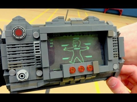 LEGO - What will be made next? ▻ Subscribe! ‪http://bit.ly/NombieSub‬ We bring Fallout's Pip-Boy 3000 Personal Information Processor wrist computer to life using 35...