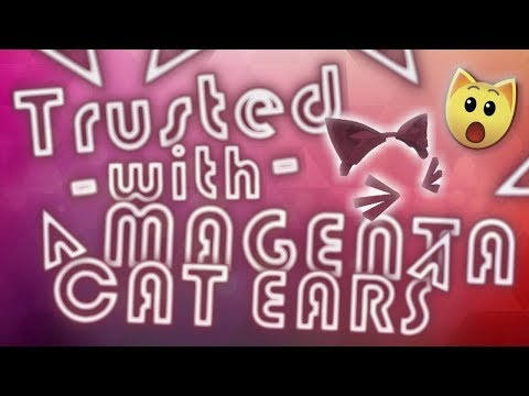 TRUSTED WITH MAGENTA CAT EARS - ANIMAL JAM