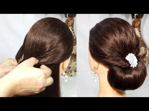 Easy Bridal Hairstyle For Long Hair  new hairstyle  wedding hairstyle  simple hairstyle