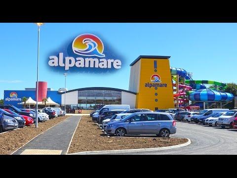 Alpamare Scarborough Waterpark  Tour - UK 4K