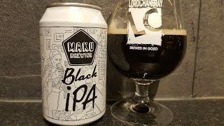 Maku Black IPA By Maku Brewing Company   Finnish Craft Beer Review
