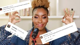 Reacting To POSITIVE COMMENTS ASMR ! | Jackie Aina