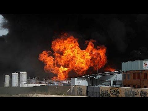 Έκρηξη σε εργοστάσιο κοντά στη Μαδρίτη